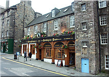 NT2573 : Greyfriars Bobby's Bar by Peter Langsdale