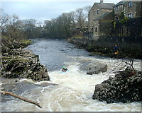 SE0063 : Successful run of Linton Falls by Andy Waddington