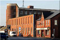 J3673 : The Owen O'Cork mill, Belfast by Albert Bridge