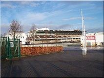 SO9524 : Main grandstand by Michael Dibb