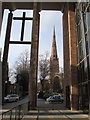 SP3379 : Holy Trinity church from the entrance to Coventry Cathedral by Ruth Sharville