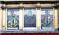 NZ2464 : Stained glass windows, Northumberland Street by Andrew Curtis