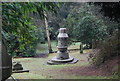 TQ5840 : Fountain, Woodbury Park Cemetery by N Chadwick
