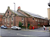 NZ2564 : Army riding school, Northumberland Road by Andrew Curtis