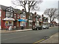 SJ9490 : Shops on Compstall Road by Gerald England