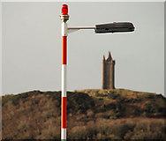 J4973 : The Castlebawn roundabout, Newtownards (5) by Albert Bridge