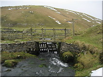 SD8970 : Footbridge over Cowside Beck by Chris Heaton