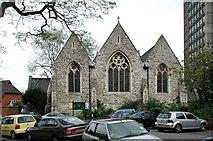 TQ2976 : Christ Church, Union Grove, London SW8 by John Salmon