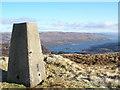 NR9775 : Trig Point on Beinn Capuill by John Ferguson