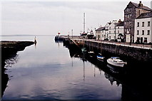 SC2667 : Castletown - Harbour entrance and Quay by Joseph Mischyshyn