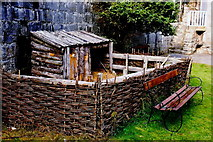 SC2667 : Castletown - Castle Rushen - Outdoor area within walls by Joseph Mischyshyn