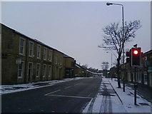 SK0394 : High Street West, Glossop by Benjamin Hopkins