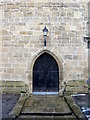 SJ3454 : All Saints church, Gresford west door by John S Turner