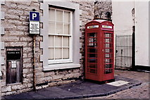SC2667 : Castletown - Posting box and red phone booth by Joseph Mischyshyn