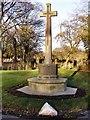 SD8009 : War Memorial, Bury Cemetery by David Dixon