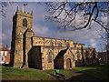 NZ2742 : St. Margaret of Antioch, Durham by wfmillar