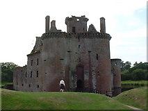 NY0265 : Caerlaverock Castle by JThomas