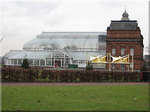 NS6064 : The People's Palace and Wintergarden by Carol Walker