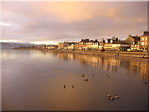 NS2982 : West Clyde Street from the pier, Helensburgh by Carol Walker