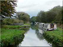 SJ9922 : Staffordshire and Worcestershire Canal at Great Haywood by Roger  Kidd