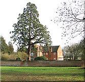TG1607 : Manor Farm (farmhouse) by Evelyn Simak