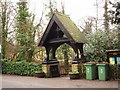 NZ5316 : Lych gate in Church Lane by Philip Barker