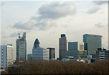 TQ3282 : Night and day: City of London skyline (1) by Andy F