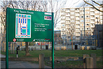TQ3282 : Kings Square Estate, London EC1 by Andy F