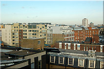 TQ3282 : Roofscape east of Central Street, London EC1 by Andy F