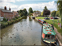 SU3368 : Kennet & Avon Canal, Hungerford by David Dixon