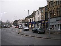 SE0641 : High Street - from Low Street by Betty Longbottom