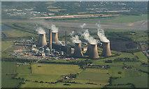 SJ5486 : Fiddlers Ferry Power Station by Alan James