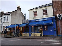 TQ2775 : Scoffers, the only restaurant in Eccles road, SW11 by tristan forward