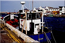 SC2484 : Peel - West Quay - Boat  June Rose by Joseph Mischyshyn