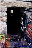 SC2484 : Peel Castle interior - Garrison latrine near the cannon by Joseph Mischyshyn