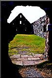 SC2484 : Peel Castle interior - Stone building at SW corner by Joseph Mischyshyn
