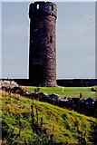SC2484 : Peel Castle interior - Round tower by Joseph Mischyshyn