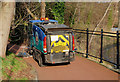 J3371 : Street sweeper, Stranmillis, Belfast (1) by Albert Bridge