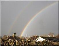 SX9065 : Double rainbow, Torre by Derek Harper
