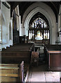 TL9383 : St Mary's church - view east by Evelyn Simak