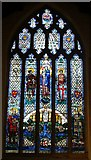 SO5040 : All Saints' church, Hereford - East window by Ruth Sharville