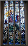SO5040 : All Saints' church, Hereford - Annunciation window by Ruth Sharville