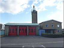 SZ0894 : Bournemouth : Redhill Park Fire Station by Lewis Clarke
