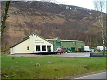 NN1161 : Lochleven Seafood Cafe by Dave Fergusson