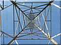 SZ0896 : Bournemouth : Unique View of a Pylon by Lewis Clarke