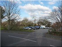 SZ0995 : Bournemouth : Muscliff - Car Park by Lewis Clarke