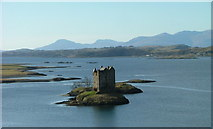 NM9247 : Castle Stalker by Dave Fergusson