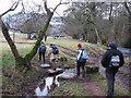SO3022 : Stepping stones beside the Honddu by Gareth James