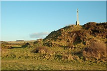 NS1907 : The RAF Monument at Turnberry by Mary and Angus Hogg