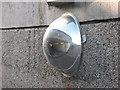 TQ4077 : Safety mirror, A102 subway by Stephen Craven
